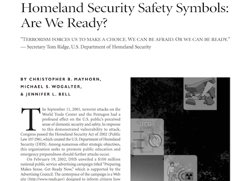 Homeland Safety Security Symbols Are We Ready