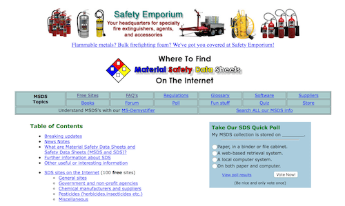 Interactive Learning Paradigms, Incorporated MSDS/SDS Resources