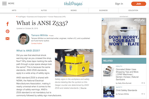What is ASI Z535