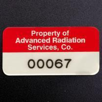 aluminum foil labels and equipment ID tags