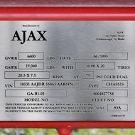 stainless steel data plates