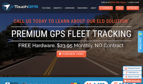 InTouchGPS fleet tracking solutions and app