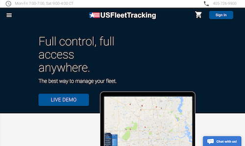 US Fleet Tracking software solution