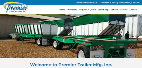 Premier Trailer Mfg Inc