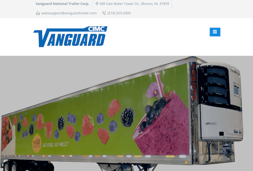 Vanguard National Trailer Corporation