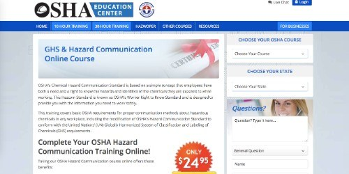 osha education center