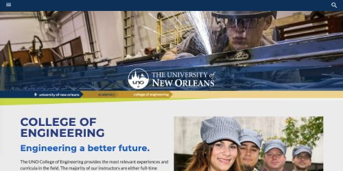 The University of New Orleans - College of Engineering