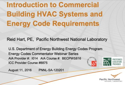 Energy Codes Requirements Guide