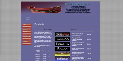 BaseLine Technology Marine Products