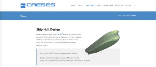 CAESES® Ship Hull Design
