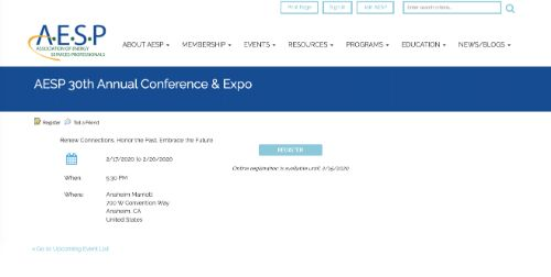 AESP 30th Annual National Conference & Expo