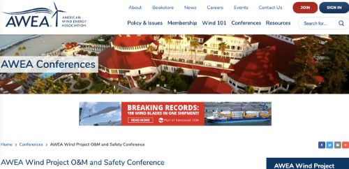 AWEA Wind Project O&M and Safety Conference