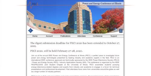 Power and Energy Conference at Illinois