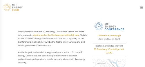 2020 MIT Energy Conference