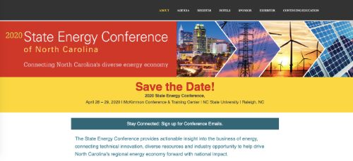 2020 State Energy Conference of North Carolina